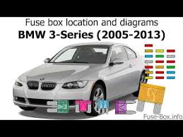2011 Bmw 328i Fuse Box Guide 02 BMW X5 Fuse Boxes