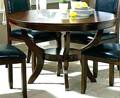 dark wood dining table round room sets 6 chairodern round wood dining tables