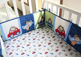 cotton 3d embroidery dinosaur rockets submarine car baby crib bedding set 7 pcs quilt per bed
