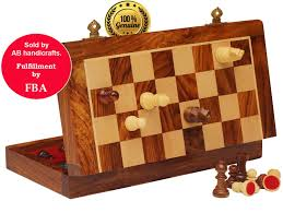 105 Magnetic Wooden Travel Chess Game Cheap Rosewood Chess Board find Rosewood Chess Board deals on 78