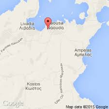 naoussa hotels paros greece book cheap naoussa hotels Naoussa Greece Map close up map view of naoussa in greece naoussa greece map