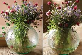 large round glass textured vase round glass vases