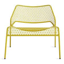 chair yellow. hot mesh lounge chair yellow