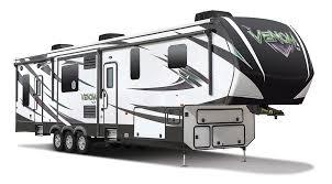 2016 k z rv venom v3911tk fifth wheel toy hauler exterior