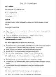 Resume Format For Teachers Lovely 51 Teacher Resume Templates Free