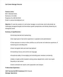 Call Center Resume Www Sailafrica Org