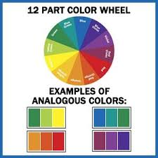 Examples of Analogous Colours