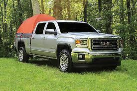 GUIDE GEAR FULL Size Truck Tent Green & Black w/Instructions in Case ...