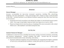 Sample Housekeeper Resume Financial Analyst Objective For