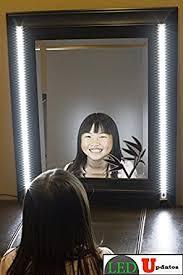 makeup vanity with led lights. make up mirror led light white color dual 2ft vanity light set with ul power adapter makeup vanity with led lights