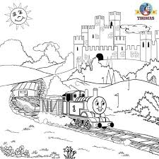 Thomas Coloring Pictures Pages To Print And Color Kids Activities ...