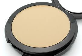closeup of make up for ever pro finish multi use powder foundation in 118 neutral