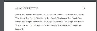 Fonts Determine The Size And Brightness Of Shorttitle In Apa6