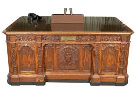 desk in oval office. Replica Of The HMS Resolute Desk (MO 79.242) In Oval Office .