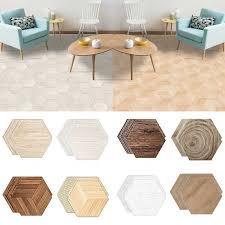 details about 10pcs kitchen home decor hexagon stickers wall art waterproof mural tile diy