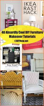 diy furniture makeover. Click Through To See Them All! 40 Absurdly Cool DIY Furniture Makeover Tutorials Diy A
