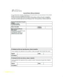 Sample Witness Statement Form Free Documents In Word Blank Bank ...