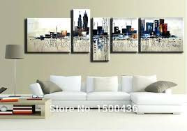 4 piece wall art set hand painted abstract oil painting on canvas 4 piece modern large  on 4 piece canvas wall art sets with 4 piece wall art set wall art set of 4 sale a zoom a a 4 piece wall