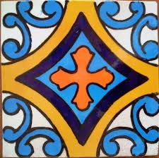 6X6 Decorative Ceramic Tile Mexican Tile Lomeli Ceramic Deco Tile 600x600 Ceramic Mexican 5