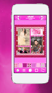 cute pink photo collage app make your pics adorable with lovely grid frame s