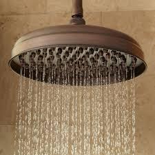 how to add rainfall effect to your bathroom bronze rain shower head