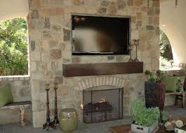 image of prefabricated outdoor fireplace kits