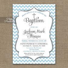 Imprintable Baptism Invitations Christening Invitation For Boys Andaname Cards