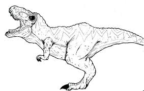 tyrannosaurus rex coloring unique juric park t rex coloring 1935942