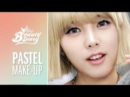 pony s beauty diary pastel makeup with subs pastel makeup