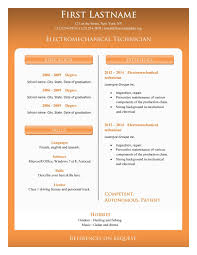 Resume Format For Free Download Unique Example Fresh Basic