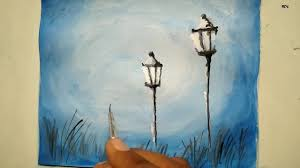 Street Light Drawing At Paintingvalleycom Explore Collection Of