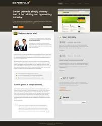 Business Website Templates New GrayPortfolio CSS Template CorporateBusiness Website
