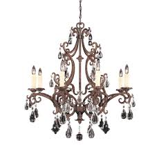 traditional chandelier savoy house 1 1401 8 56 wrought iron crystal chandelier lighting country french white black wrought iron crystal chandelier small