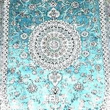 safavieh evoke vintage oriental light blue ivory distressed rug ental rugs carpets aqua sky silk colorful