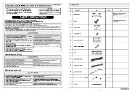 mitsubishi electronics muz ge18na user39s manual amp mitsubishi rg79b202g03 air conditioner installation manual mitsubishi mr slim