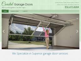 coastal garage doorsCoastal Garage Doors  Garage Door Openers Hinesville