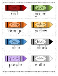 Free printable color word flash cards for eleven different colors. Color Word Flashcards By Lisa Snyder At For The Love Of Kindergarten