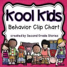 Kool Chart Clip Chart Cool Kids Theme Editable