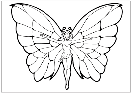 Drawing Pages Printable Fun Butterfly Coloring Pages For Kids
