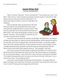 Ideas About Grade 3 Reading Comprehension Worksheets Printable ...