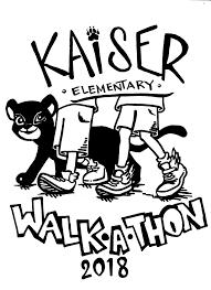 Walkathon Henry J Kaiser Jr Elementary School