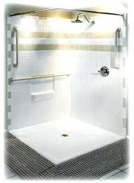 Handicap Accessible Bathroom Stunning Stunning Ada Shower Door Width Rolling Door Shower Enclosure W
