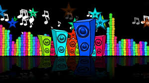 speakers abstract. looped abstract creative speakers playing background for music festivals, discos, clubs, parties,
