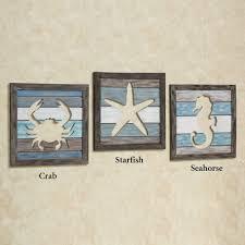 free sealife cutout slat wall art