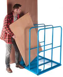fully welded construction vertical sheet rack for storing panels sheeting