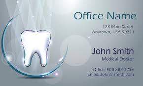dental visiting card design vivid 3d dental theme dentist business card design 301421