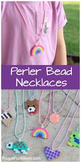 Beads Design Ideas Clothes Perler Bead Ideas Necklace Craft Frugal Fun For Boys And
