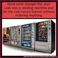 Automatic Products Vending Machine Hack Interesting Dollar Store Crafter Need Change Hack VENDING MACHINES