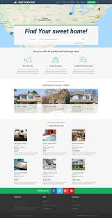 real state template real estate classifieds website template joomla monster