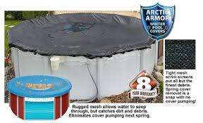 Arctic Armor Rugged Mesh Winter Cover 16 Round for Above Ground
